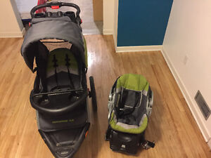 Jogger/Stroller with Matching Car Seat