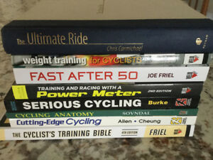 Cycling training books (weight training, power meter...)
