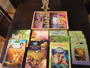 Disney Tinkerbell Magnetic Doll and Books
