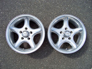 """EAGLE ALLOY 15"""" X 7"""" RIMS (2) ***FIRST $40 GETS THEM***"""