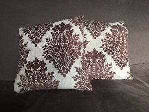 Accent pillow covers x2