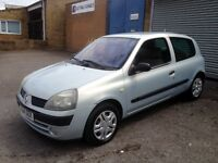 2005 Renault Clio 1.2 long mot! ( must see