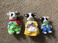 Sylvanian family of cows