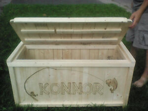 wooden toy box for sale/personalized with your name