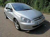 2004 PEUGEOT 307 1.6 16V S MANUAL PETROL 5 DOOR HATCHBACK