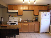 Bright lower suite for rent, great location.