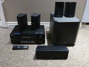 Home Theatre - Boston Acoustics speakers and  Onkyo 7.1 receiver
