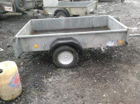 Ifor Williams quad trailer 6.6x4 no vat for sale  Hamilton, South Lanarkshire