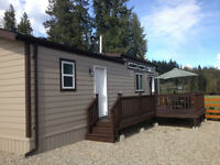 Two bedroom Park Model on titled Kootenay Lake RV View lot