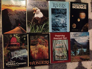 National Geographic Society books, set of 8