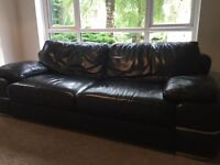Sofa Works Leather 3.5 seater