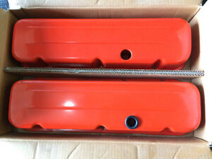BIG BLOCK CHEVY VALVE COVERS AND AIR FILTER TOP