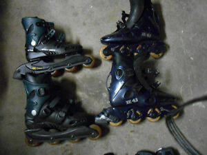 Roller Blades his and hers set