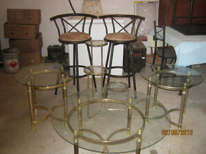 glass top tables