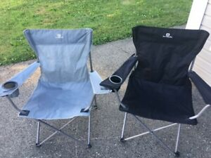 I have 4 fold up chairs for $25