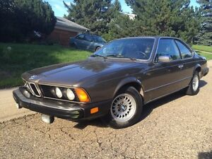 1984 BMW 633 csi. Great condition!