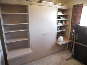 Murphy Bed - Custom Built Wall Bed with Storage
