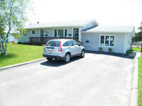 Dieppe 3 bedroom Upper level Bungalow Heats/Lights included