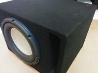 """INFINITY 10"""" Subwoofer (1600W or 400W RMS)"""