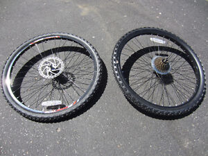 """Brand New 24"""" Front Disk Complete Wheel Sets.Ready to roll"""