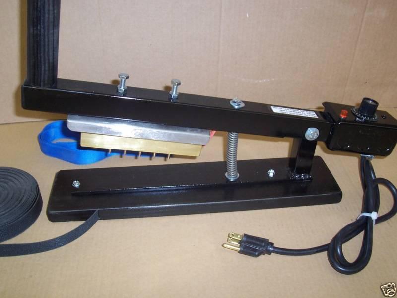 WEBBING MULTI-HOLE PUNCH 120V/500W