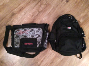 Backpack and Messenger Bag duo
