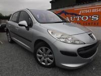 Peugeot 207 1.4 16v 90 ( a/c ) silver petrol