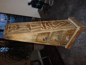 """SOLID WOOD TOWER 19 1/2"""" ACCENTS - FOR ALL KINDS OF UTILITY"""