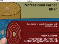 Supply and fit carpet,wood and vinyl