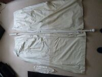 Nursery Curtains,Pole and Tiebacks
