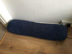 Bolster Pillow 3ft Blue Teddybear Fabric