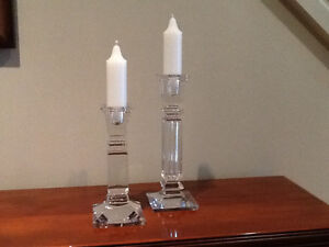 Candlesticks Chrystal