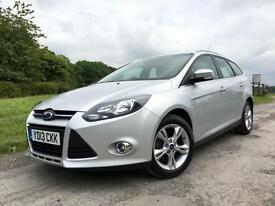 Ford Focus 1.6TDCi ZETEC ECOnetic 2013 Silver Diesel Manual Estate