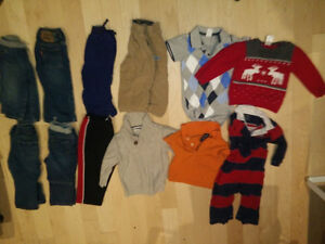 Boy clothing lots: 12-piece 12-18m $ 15, 16-piece 18-24m $ 20