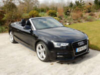 2014 AUDI A5 TDI S LINE SPECIAL EDITION HUGE SPEC AUTOMATIC CONVERTIBLE DIESEL
