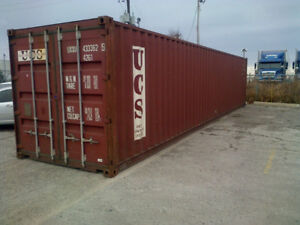 Used 20ft and 40ft Steel Storage Containers for Rent or Purchase