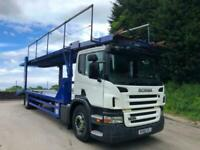 2010 60 Scania P230 6 car double deck car transporter, spec lift, winch for sale  Halifax, West Yorkshire