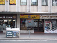 AMAZING YONGE ST STOREFRONT + PATIO SPACE - SOUTH OF BLOOR!!!