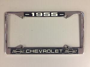 1955 Licence plate frame