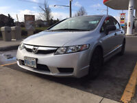 2009 HONDA CIVIC DX-G Sport | Only 69K km | CERTIFIED & ETESTED