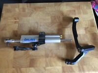 Yamaha R1 Ohlins Steering Damper And Harris Fixing Bracket Kit 02 03 5JJ 5PW