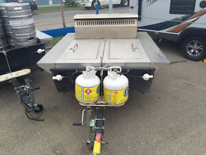 BBQ Trailer -  cash or trade for Camero convertable or truck or?