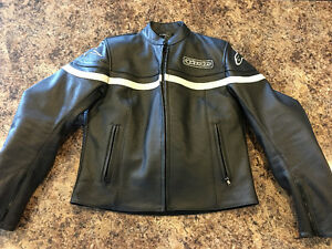 Women's Leather Alpinestars Motorcycle Jacket