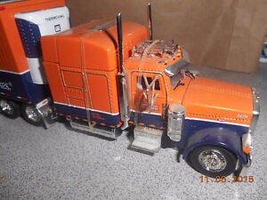 1/64 scale scheiders red hots truck and trailer