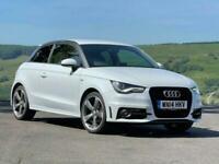 2014 Audi A1 1.4 TFSI BLACK EDITION 3d 138 BHP S Tronic Auto Hatchback Petrol Se