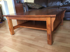 Coffee table from the Country House