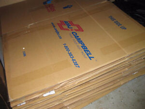 Professional moving supplies, various items