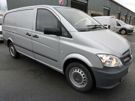 2012 Mercedes-Benz Vito 113 CDi LWB, Met. SILVER, LOW MILES, SUPERB T/OUT