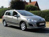 2012 Peugeot 308 SW 1.6 HDI 92 S 5DR TURBO DIESEL ESTATE ** 41,000 MILES * FU...