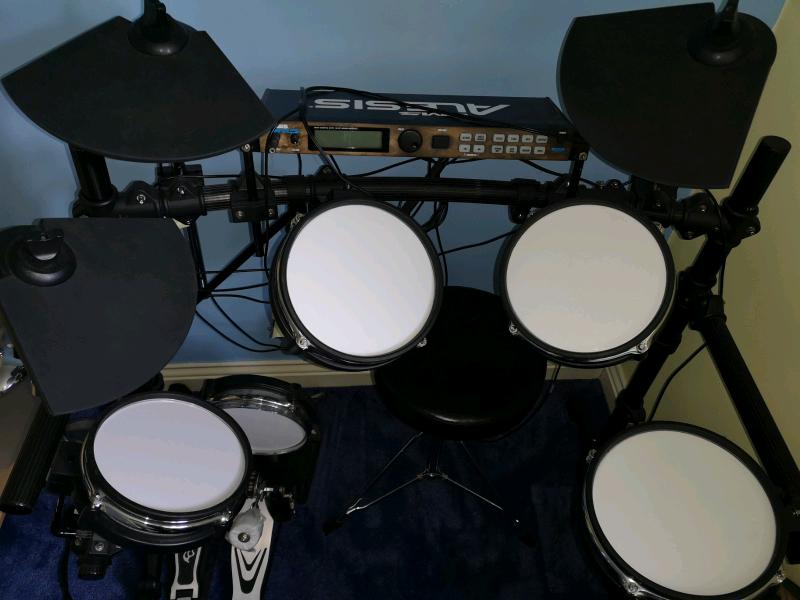ab7a15cc65b7 Drum Set -Alesis DM5 pro 8 electronic drum kit